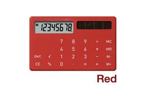 ±0(プラスマイナスゼロ)電子計算機XS ZZD-T030 カード電卓・カリキュレーター