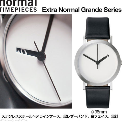 Normal Timepieces �������ȥ�Ρ��ޥ� ������ �ۥ磻�ȥե����� �������