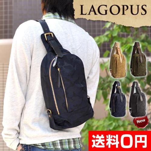 LAGOPUS スリングパック 【レビューで選べるJの特典】 おしゃれ