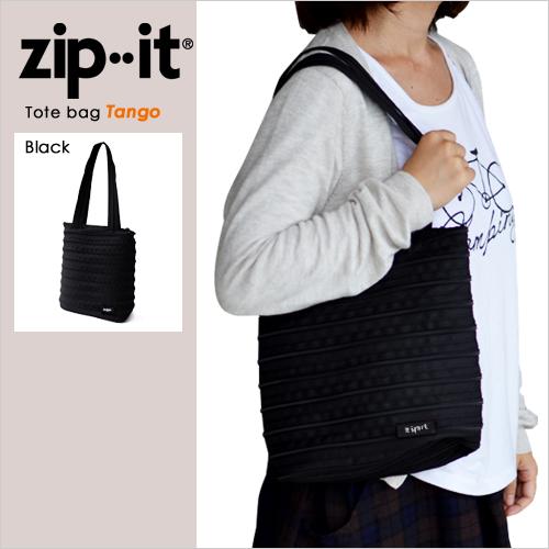zipit タンゴ トートバッグ ブラック おしゃれ
