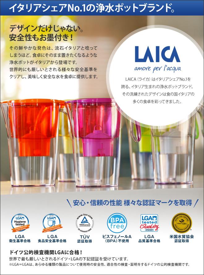 イタリアシェアNo.1の浄水ポットブランド