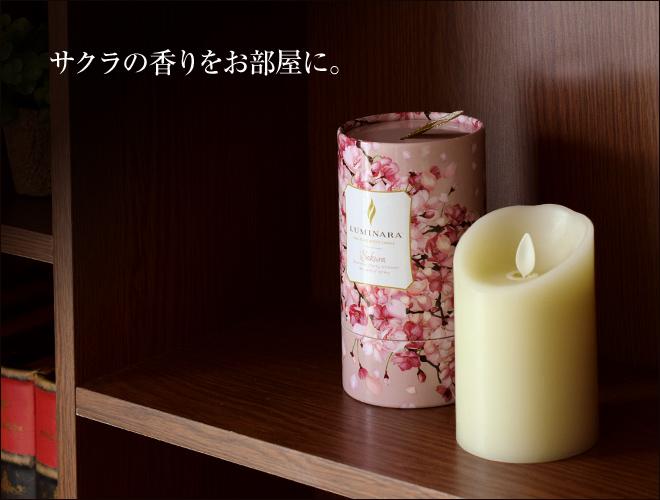 サクラの香りをお部屋に。