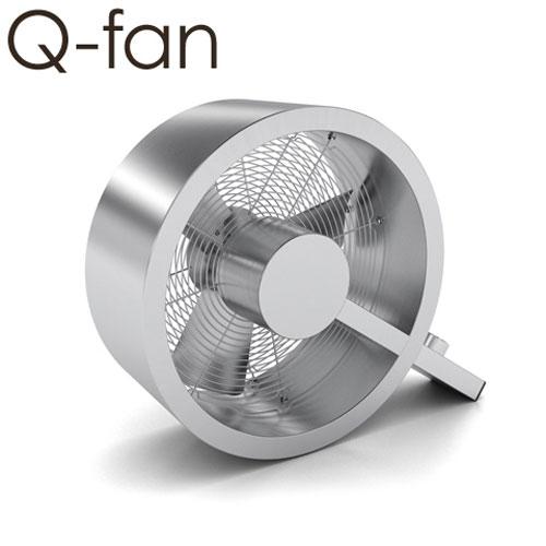 Q-fan ステンレスサーキュレーター 【レビューで温湿時計モルトの特典】 おしゃれ