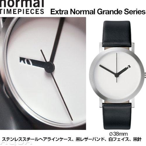 Normal Timepieces エクストラノーマル グランデ ホワイトフェイス【メーカー取寄品】  おしゃれ