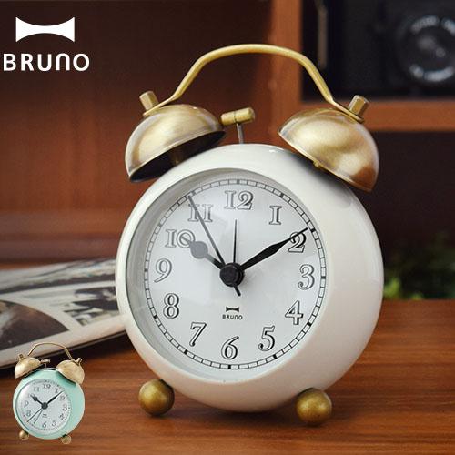 BRUNO ゴールドツインベルクロック BCA001 おしゃれ