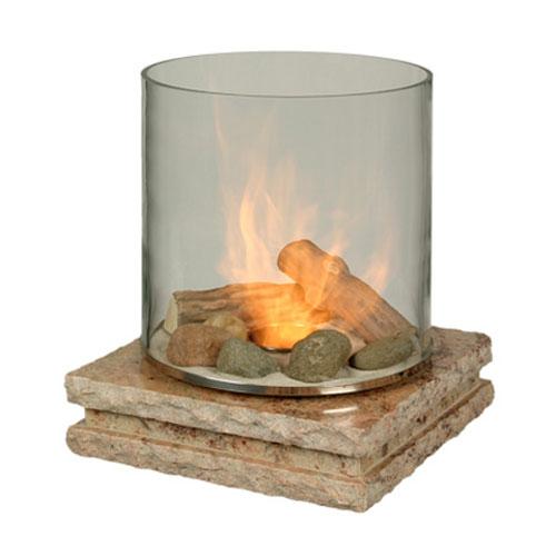 PLANIKA グラスファイヤー/インディアン・シバカシ石 暖炉【メーカー取寄品】 おしゃれ
