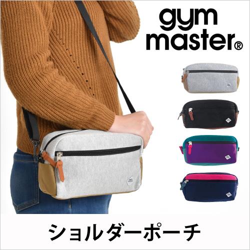 gym master(ジムマスター) スウェットショルダーポーチ おしゃれ