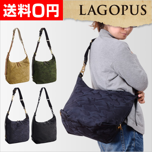 LAGOPUS ショルダーバッグ M【レビューでVARIASポーチの特典】 おしゃれ