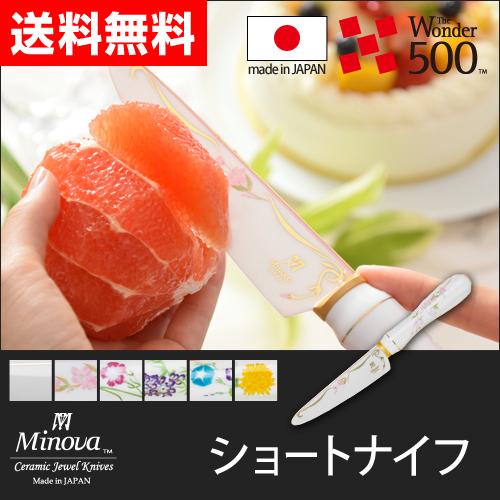 Minova ショートナイフ 【レビューでスポンジワイプのオマケの特典】 おしゃれ