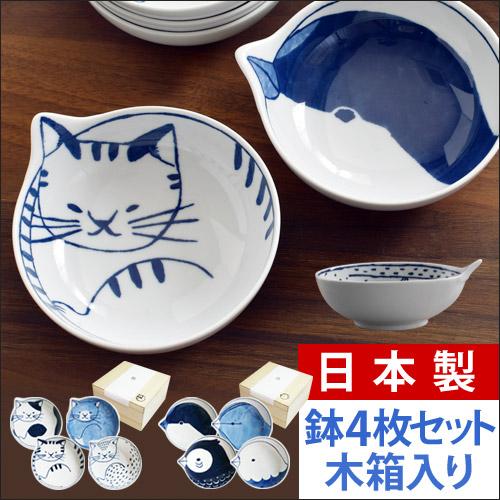 neco鉢 tori鉢 4P木箱セット 【レビューで送料無料の特典】 おしゃれ
