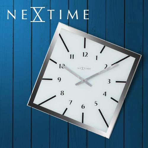 NEXTIME オフバランス 壁掛け時計 【もれなく送料無料の特典】 おしゃれ