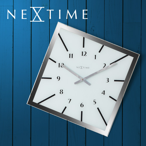 NEXTIME オフバランス 壁掛け時計 おしゃれ