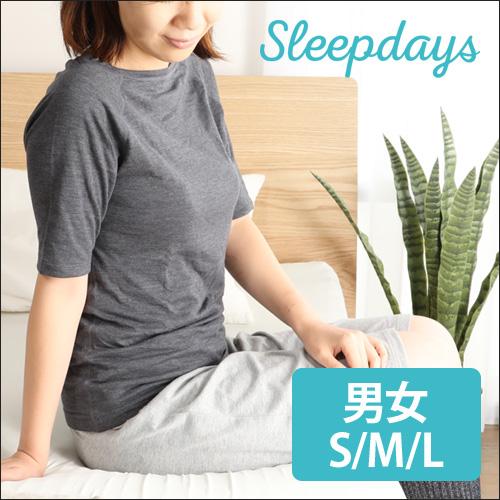 Sleepdays リカバリーショートスリーブTシャツ おしゃれ