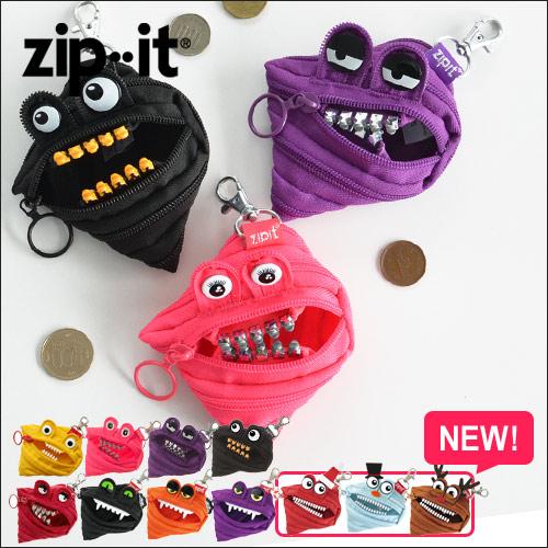 zipit モンスターコインケース ◆メール便配送◆ おしゃれ